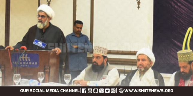 Sunni and Shia leaders vow to strengthen unity