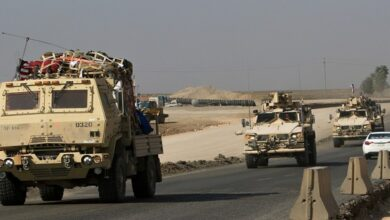 US Convoy in Iraq