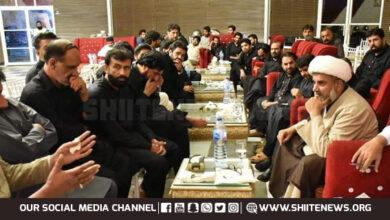 Shia Zakireen meet Allama Raja Nasir Abbas Jafari