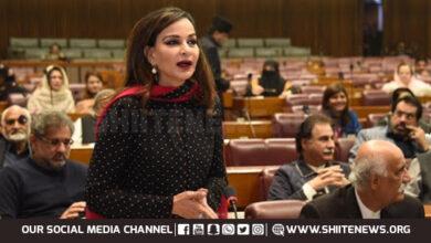 Senator Sherry Rehman alerts Senate on Shia genocide