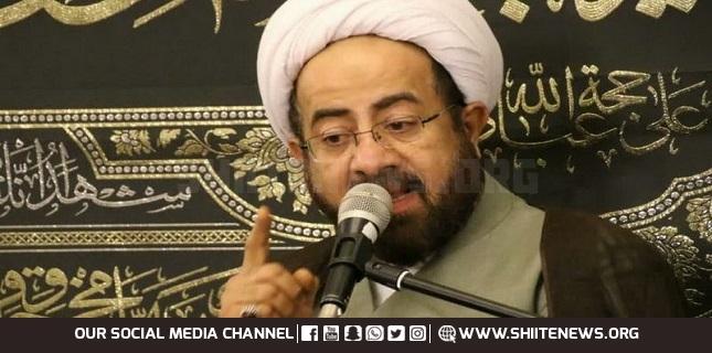 Sheikh Ibrahim Al-Ansari, the famous Bahraini shia cleric