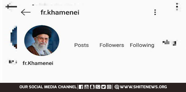 Instagram page of Ayatollah Khamenei blocked