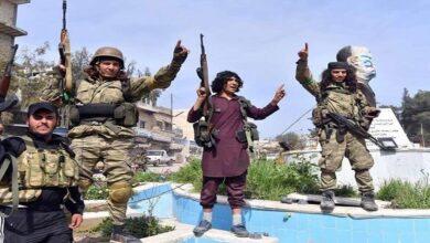 Ankara-backed Syrian mercenaries
