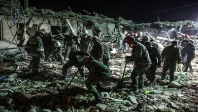 Armenia missile attack