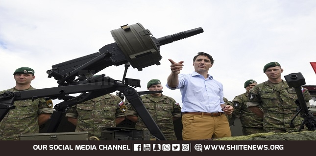Canada to suspend arms sales to NATO