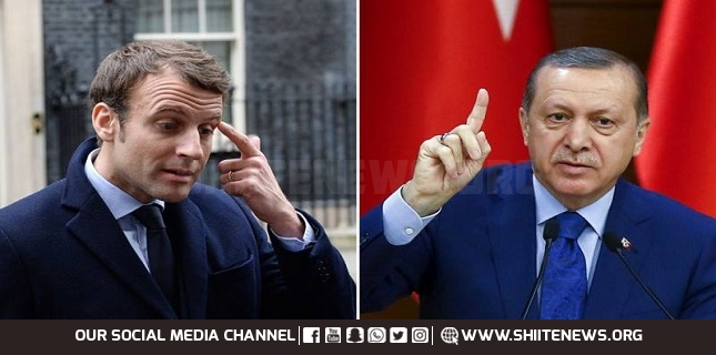 Erdogan Says Macron