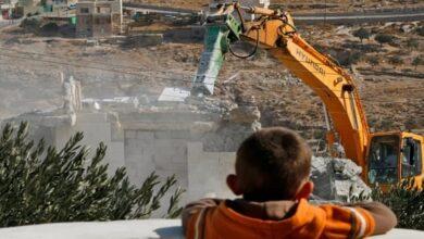 Israel demolished Palestinian homes