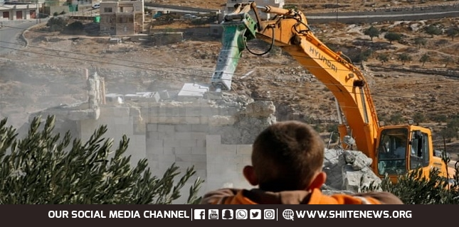 Israel demolished Palestinian homes