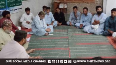 Sunni Muslim apologize Shia Muslims in Jacobabad