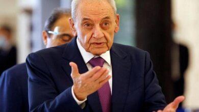 Lebanese House Speaker Nabih Berri