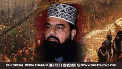 Mufti Gulzar Naeemi laments ban on JDC Eid Milad