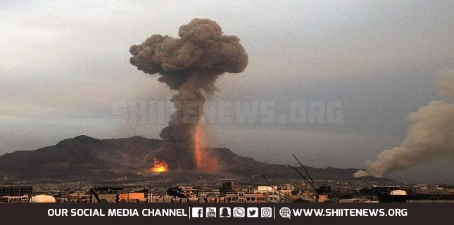 Saudi-led air strikes