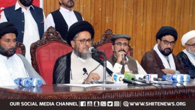 Shia Ulma Council asks govt to meet their 16 legitimate demands