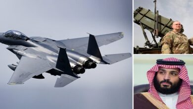 US Air Force F-16 fighters deployed to Saudi Arabia