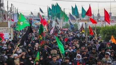 foreign pilgrims attend Arbaeen ceremony