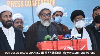 Allama Raja Nasir says followers of Imam Hussain are majority