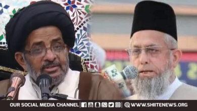 Allama Razi Jafar Naqvi condemns