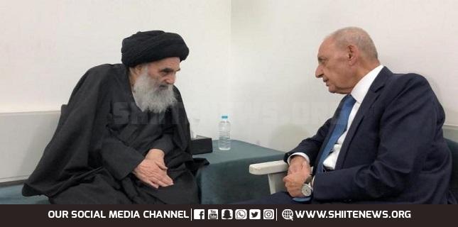 Nabih Berri and Ayatollah Sistani