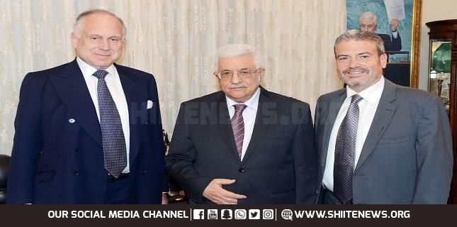 Palestinian president Abbas