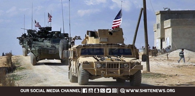 convoy of US military