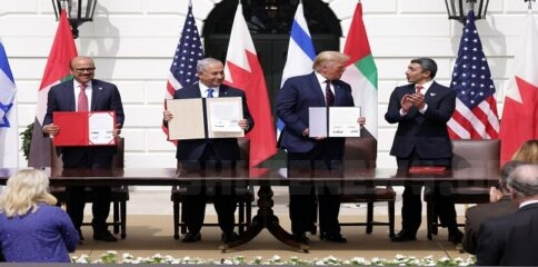 President Trump Hosts Abraham Accords Signing Ceremony On White House South Lawn