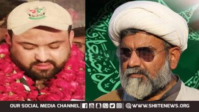 Allama Raja Nasir Abbas Jafari congratulates