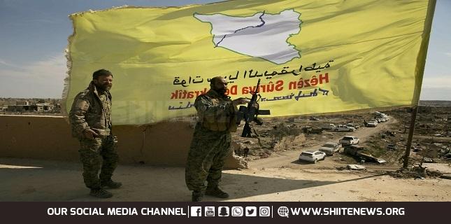 US-backed SDF militants