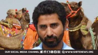 Shia Muslim Manzar Baloch returns Bhakkar