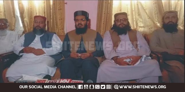 Muavia Azam of outlawed Sipah Sahaba visits Matli