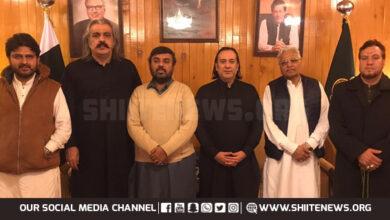 MWM delegation meets Governor Gilgit Baltistan