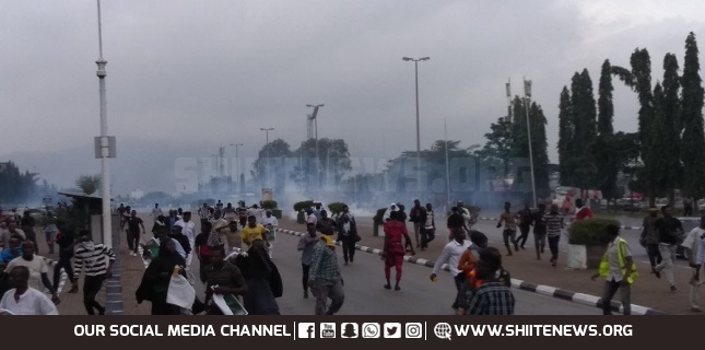protestors in Abuja