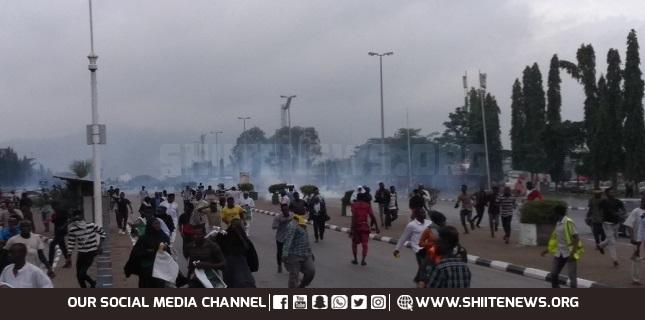 protestors in Abuja