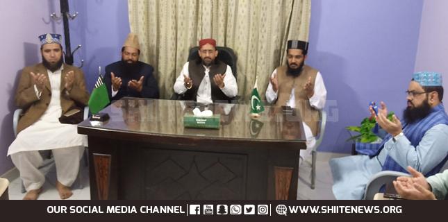 Muavia Azam meets outlawed Sipah Sahaba ringleaders in Karachi