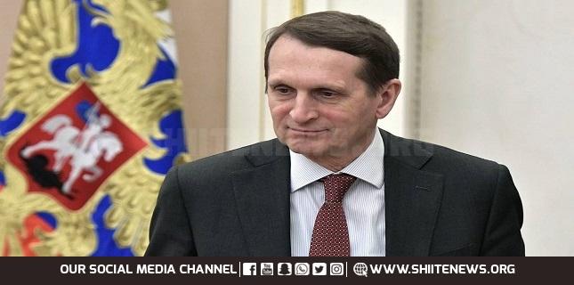 Russian Foreign Intelligence Service, Sergey Naryshkin