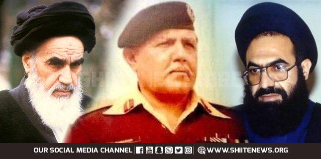 Retired army general Tasawwur Hussain Shah