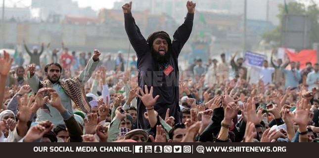 Tehreek Labbaik held sit in for release of blasphemer Ashraf Jalali
