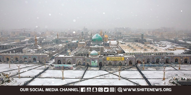 A white night in Imam Ridha's (A.S) holy shrine+Photos