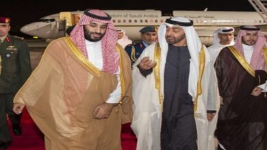 Bin Salman and bin Zayed