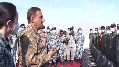 CJCSC General Nadeem Raza witnesses Pakistan China Joint Air Exercise