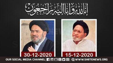 Maulana Syed Ahmed Hasnain Rizvi of Bu Turab