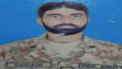 One terrorist killed while one soldier martyred