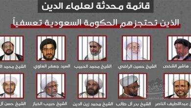 Over dozen Shia scholars kept in detention centers in Saudi Arabia Report
