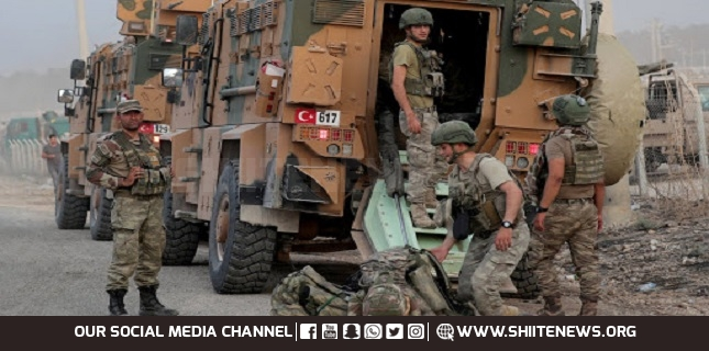 Turkish military forces