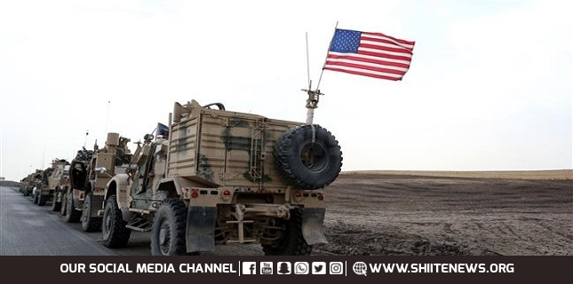 US-led military convoys