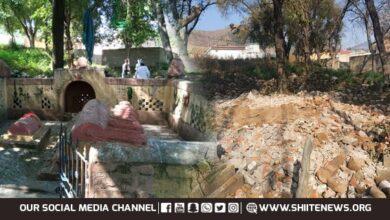 ISIS Daesh terrorists demolish shrine of Islamic saint
