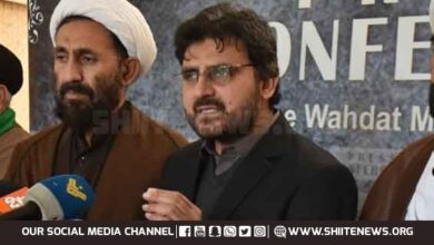 Nasir Shirazi slams PDM parties
