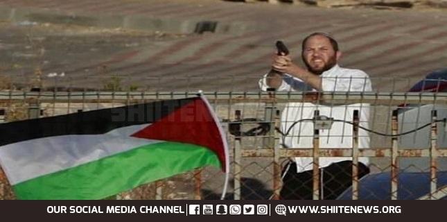 Zionist settler opens fire on Palestinians