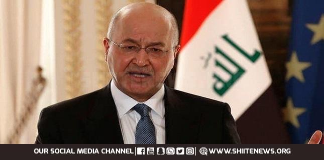 Iraqi President Barham Salih