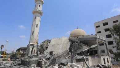 Israel demolishes mosque in occupied West Bank