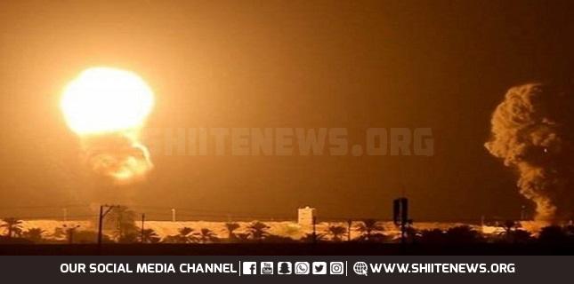 Israeli army strikes Hamas posts in Gaza Strip